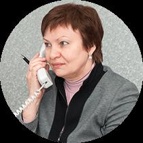 Заместитель генерального директора Кравцова Любовь Захарьевна